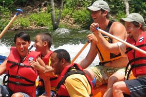 Rafting | Raft Cave Hike